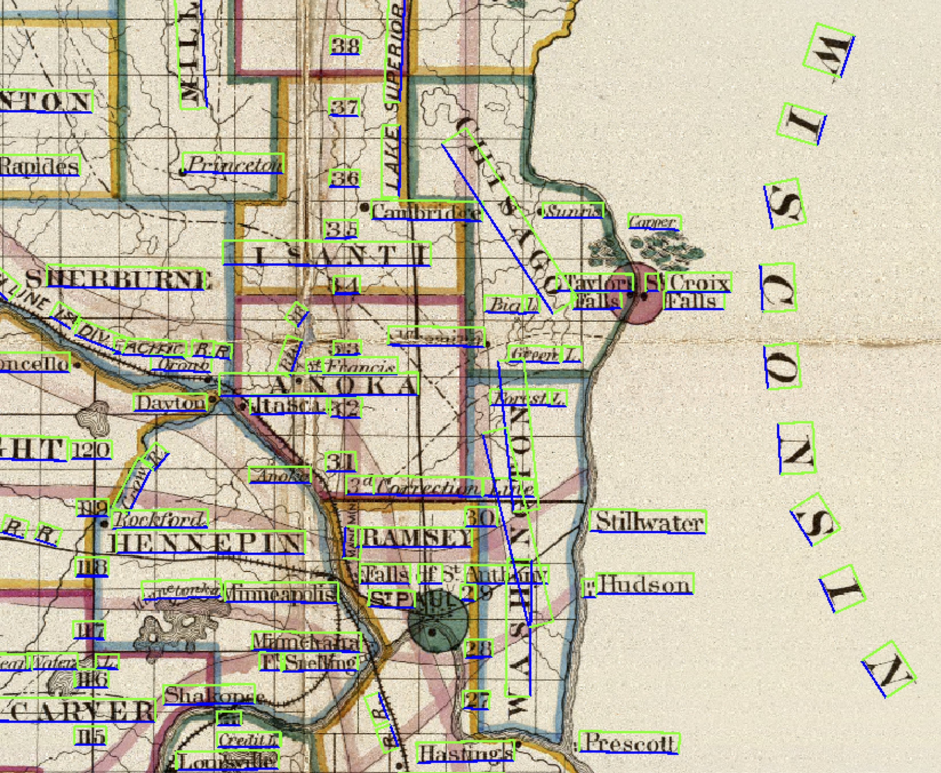 Historical Maps < Research < Jerod Weinman < CompSci < Grinnell on